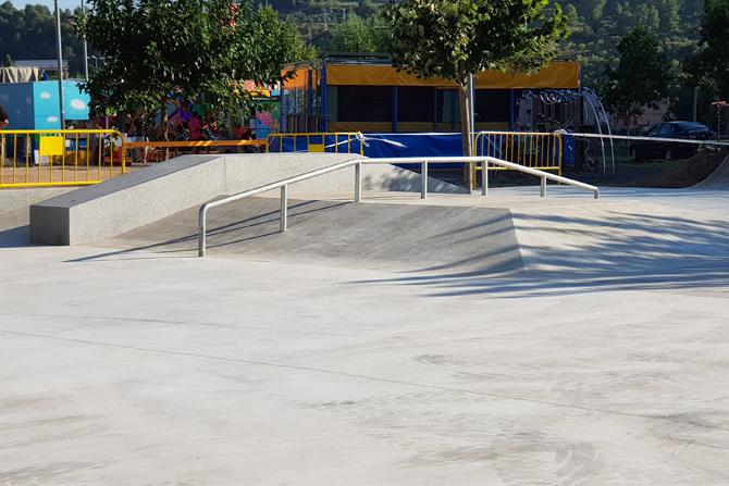 Edificació skate park constructora manresa