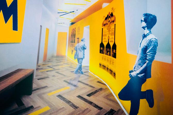 Restauració oficines logístiques Moritz Construccions 360+