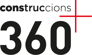 logotip construccions 360+