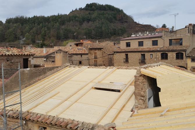 Restauració centre cultural constructora manresa